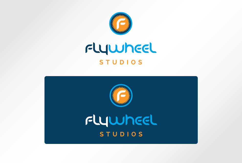 Flywheel Studios Logo Design