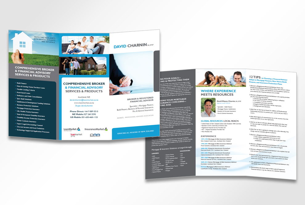 David Charnin Brochure Design