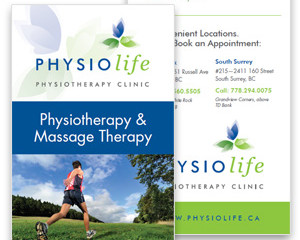Physiolife Rack Card