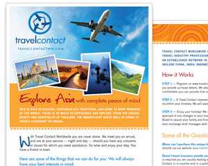 Travel Contact Brochure