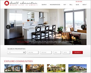 WordPress Real Estate Theme 1