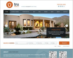 WordPress Real Estate Theme 2