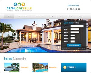WordPress Real Estate Theme 6