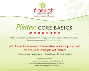 Pilates Core Basic Workshop Poster