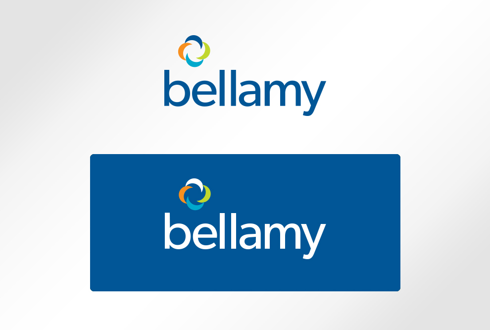 Bellamy Software Logo Design