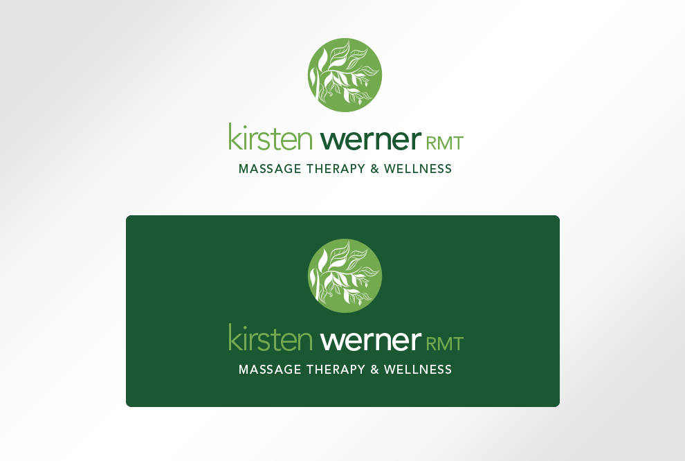 Kirsten Werner Logo Design