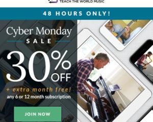 ArtistWorks Cyber Monday Sale