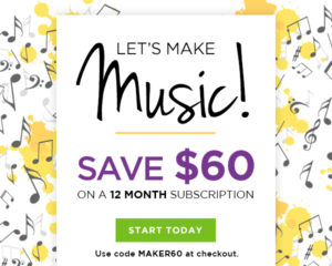 ArtistWorks Summer Sale Campaign