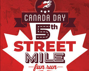 5th Street Mile Poster Design 2019